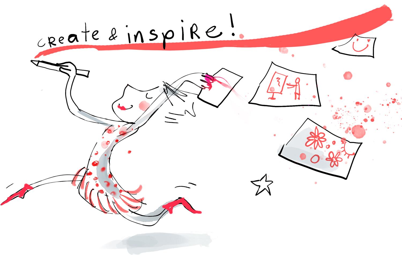 create inspire